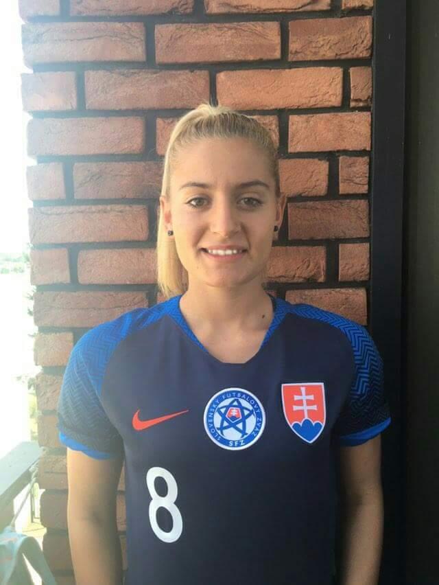 Reprezentacja: Klaudia Fabova zagra ze Szwajcarią
