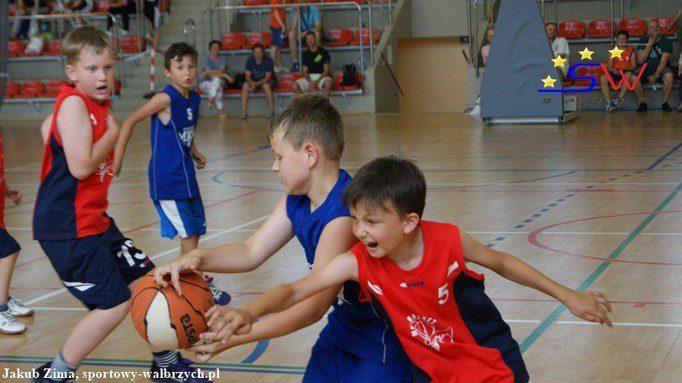 Święto mini koszykówki w Szczawnie Zdroju
