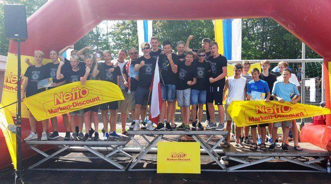 Młodzi siatkarze na turnieju w Niemczech