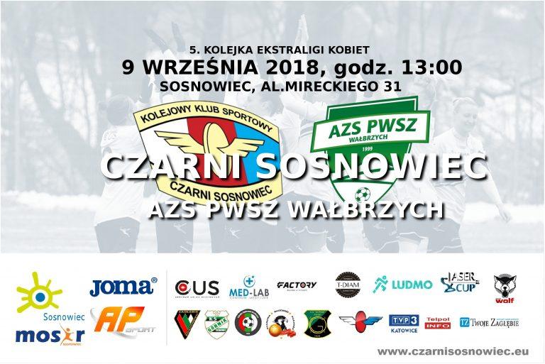 Transmisja: KKS Czarni Sosnowiec vs AZS PWSZ Wałbrzych