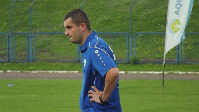 Kamil Jasiński przed meczem z Sosnowcem