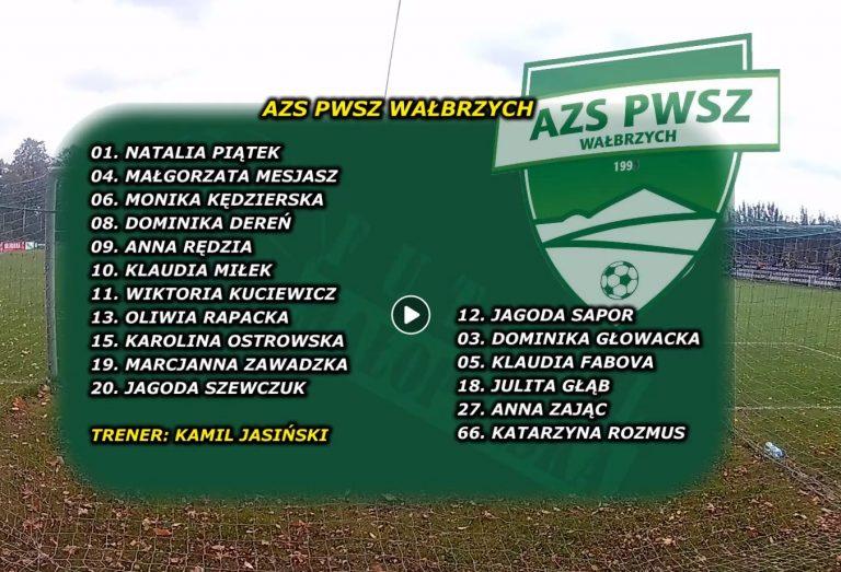 Skrót wyjazdowego meczu AZS PWSZ Wałbrzych z Jagiellonkami