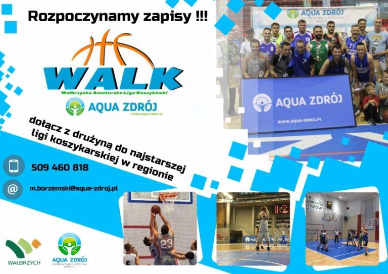 Ruszyły zapisy do Wałbrzyskiej Amatorskiej Ligi Koszykówki