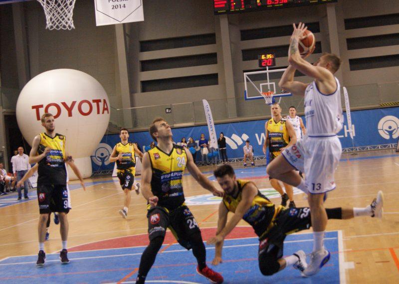 I liga koszykówki: Górnik rozszarpany! Sokół nie pozostawił nam złudzeń