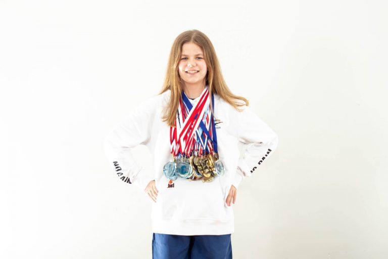 Anna Sobaszek z UKS Szafir w Top 10 Polski