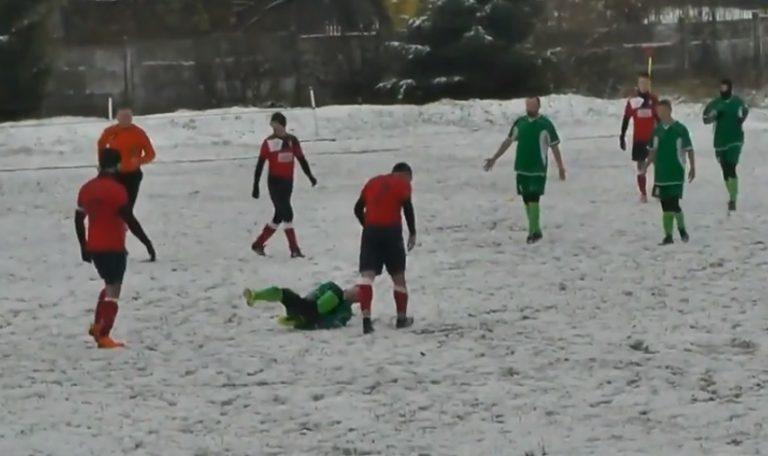 A klasa: Orzeł nie przestraszył się śniegu