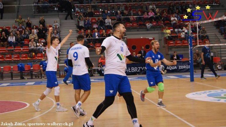 II liga siatkówki: Aqua Zdrój wygrywa z Sobieskim