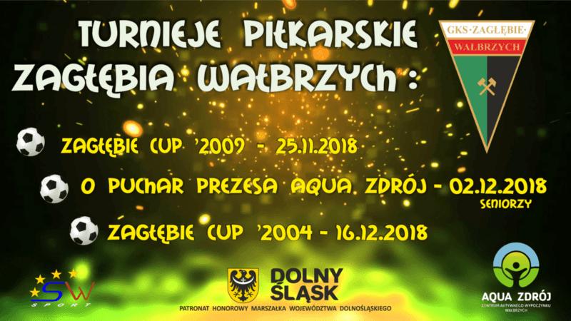 Turniej o Puchar Prezesa Aqua Zdrój - Zagłębie Wałbrzych CUP