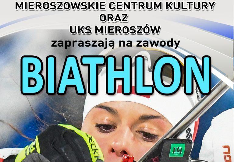 Biathlon: Przed nami zawody w Mieroszowie