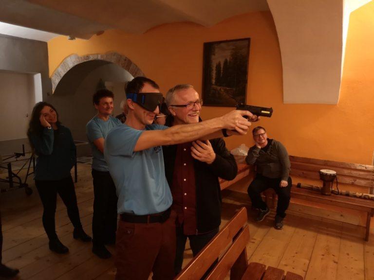 DoSAN na strzelnicy