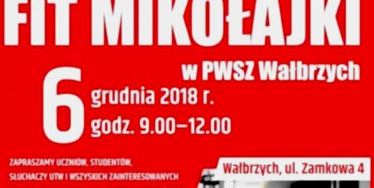 Fit Mikołajki na wałbrzyskiej PWSZ