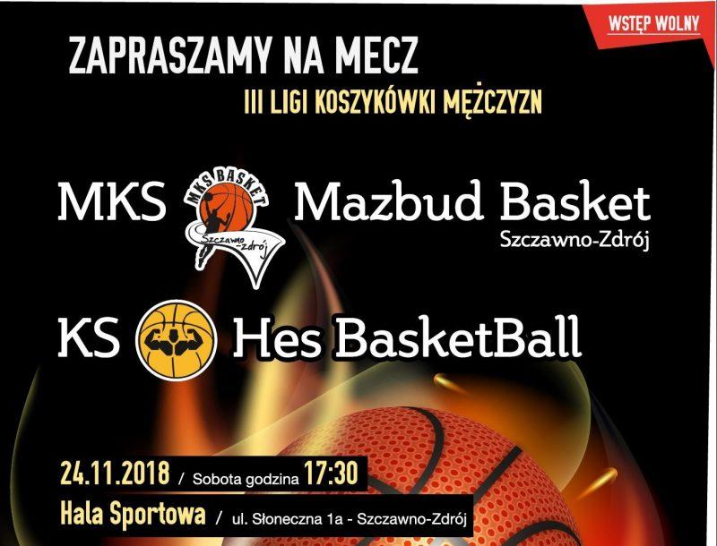 III liga koszykówki: Kolejny mecz Basketu już w 24 listopada