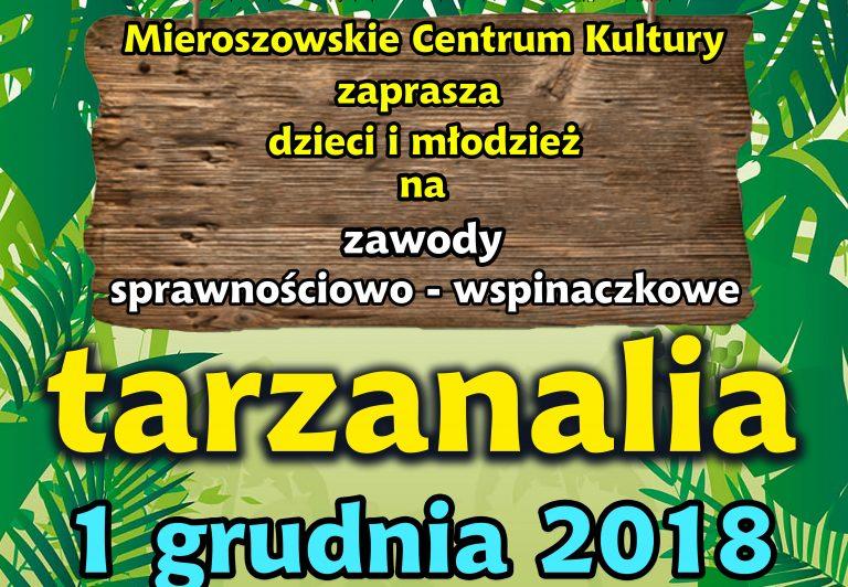 Tarzanalia 2018 – zawody wspinaczkowe