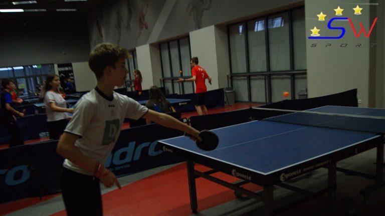 SZS: Chłopcy z PSP 23 najlepsi w tenisie stołowym