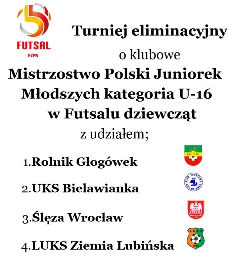 Transmisja: Turniej eliminacyjny Mistrzostw Polski U16