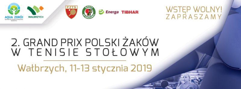 II Grnad Prix w tenisie stołowym już niebawem w Wałbrzychu
