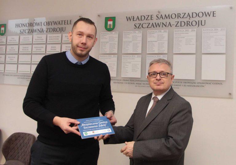 """Basket Szczawno w projekcie """"Bezpieczna Gmina Szczawno-Zdrój"""""""