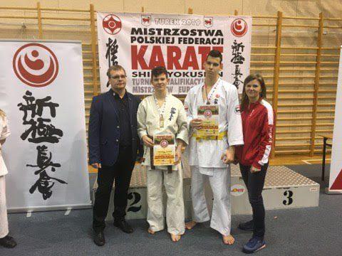 Karate: Dominik Obuchowski z Wałbrzycha Mistrzem Polski!!!!