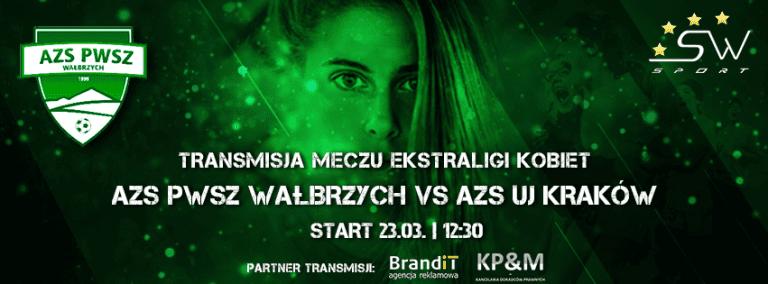 Ekstraliga: Wyrównać rachunki – AZS PWSZ Wałbrzych vs AZS UJ Kraków – Transmisja