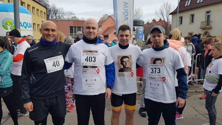 A klasa: Podgórze Wałbrzych uczestniczyło w biegu Tropem Wilczym