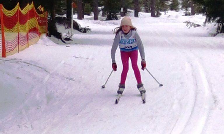 Biegi narciarskie: Kamila Woźniak najlepsza na Dolnym Śląsku