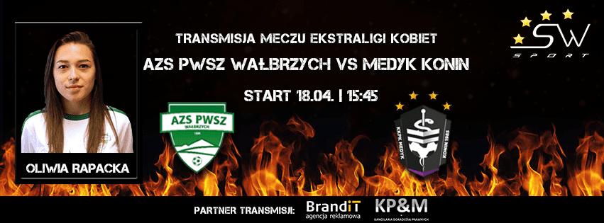 AZS PWSZ Wałbrzych vs Medyk Konin SW Sport TV