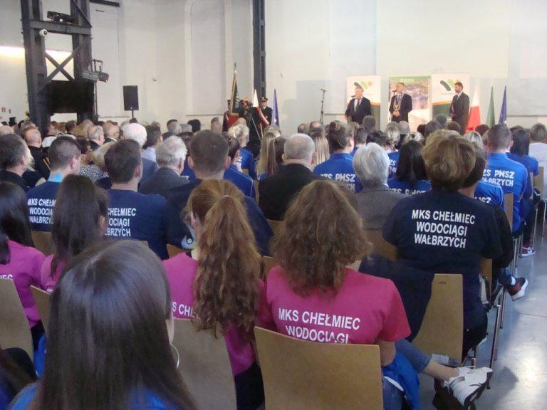 Siatkówka: Siatkarki Chełmca Wałbrzych na uroczystej sesji Rady Miasta