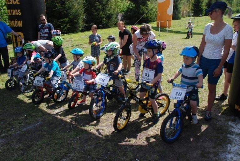 Kolarstwo: Puchar Strefy MTB Sudety w Głuszycy dla dzieci