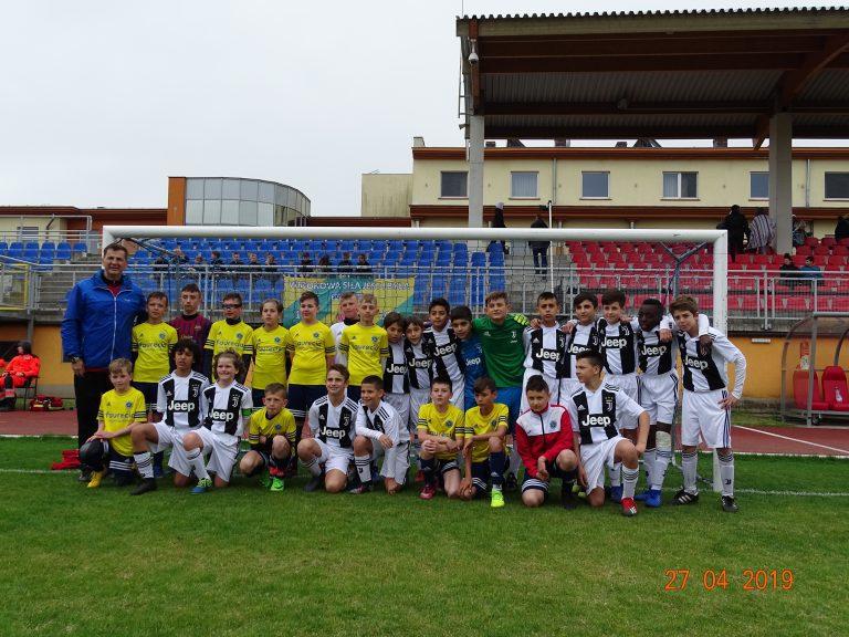 Wałbrzyscy piłkarze rywalizowali z Juventusem Turyn!