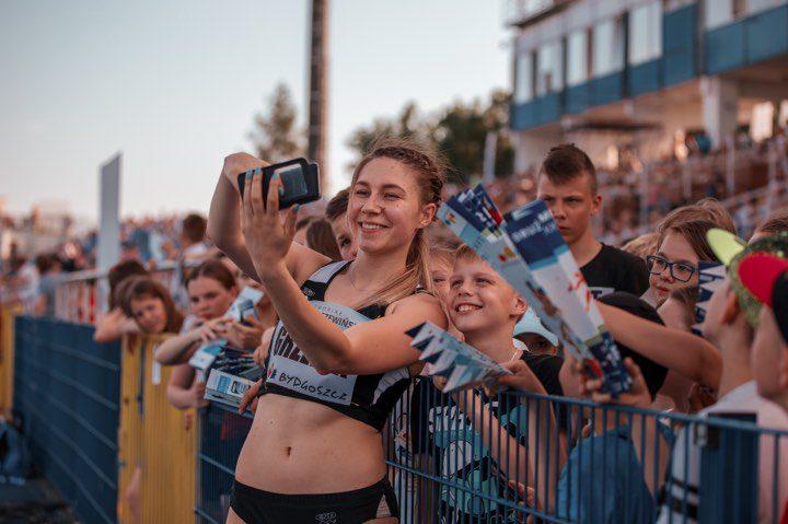 Lekkoatletyka: Weronika Grzelak startowała w Bydgoszczy