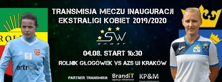 Ekstraliga: Rolnik Głogówek vs AZS UJ Kraków – Transmisja