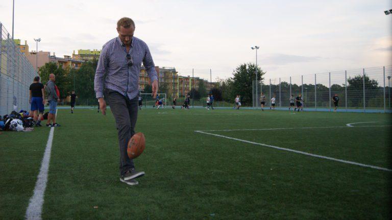 Dobrosław pożongluje w przerwie meczu Minersów!!