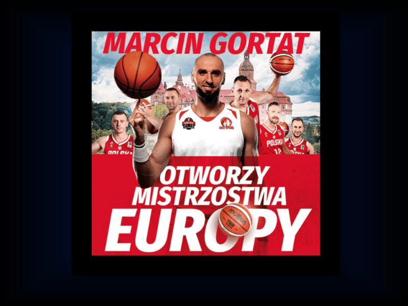 ME: Marcin Gortat otworzy Mistrzostwa Europy!