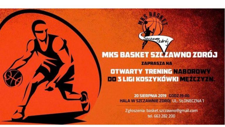 Koszykówka: Otwary trening MKSu Basket Szczawno-Zdrój