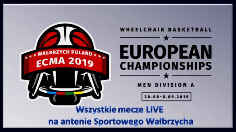 Mistrzostwa Europy w koszykówce na wózkach na antenie Sportowego Wałbrzycha!!!