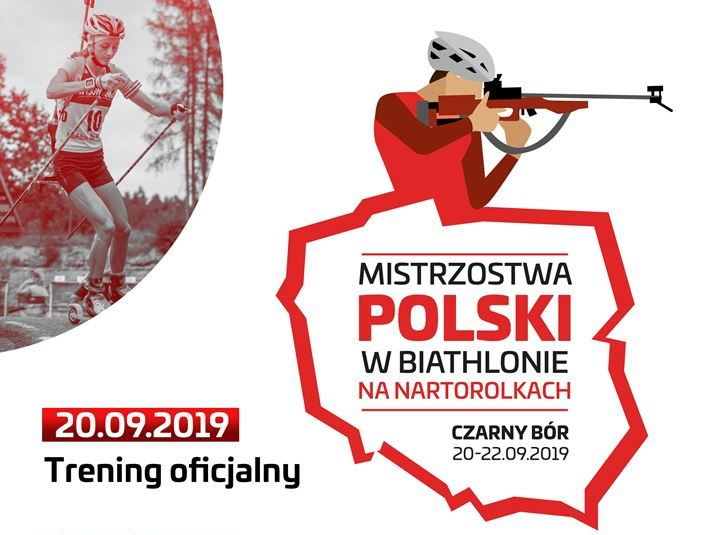 Biathlon: Mistrzostwa Polski w biathlonie letnim w Czarnym Borze