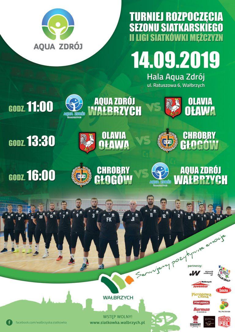 II liga siatkówki: MKS Aqua Zdrój pierwszy raz na parkiecie w nowym sezonie