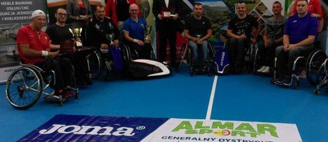 Tenis: Ryszard Szczygieł zwycięzcą szczawieńskiego turnieju