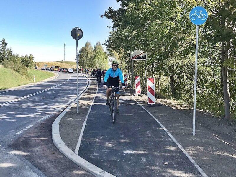 rowerem do Jedliny