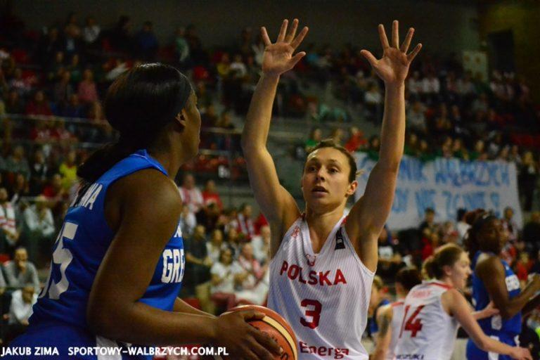 Koszykówka: Publiczność nie pomogła. Polki przegrywają na inaugurację eliminacji