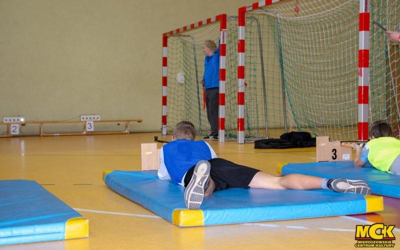 Biathlonowe zawody międzyszkolne