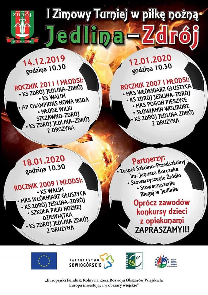 Zdrój Jedlina Zdrój rozpoczęła cykl zimowych turniejów piłkarskich
