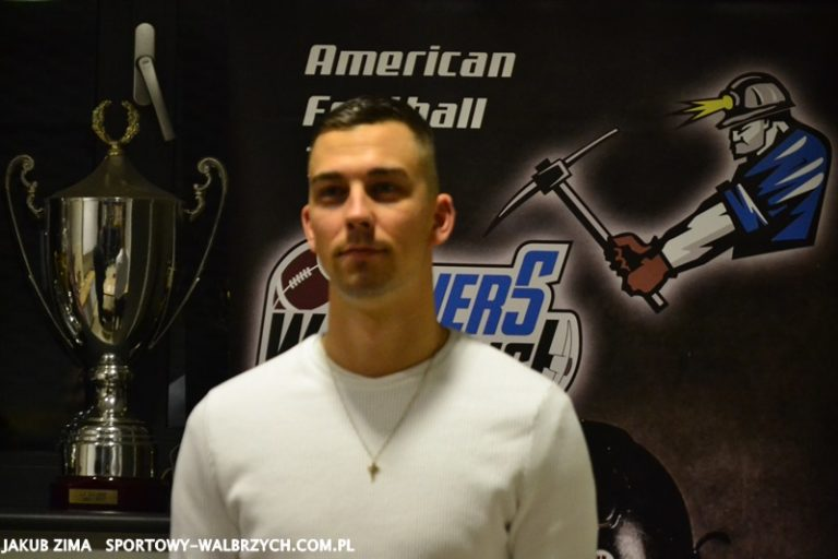 American Football: Patryk Matkowski w Miners!