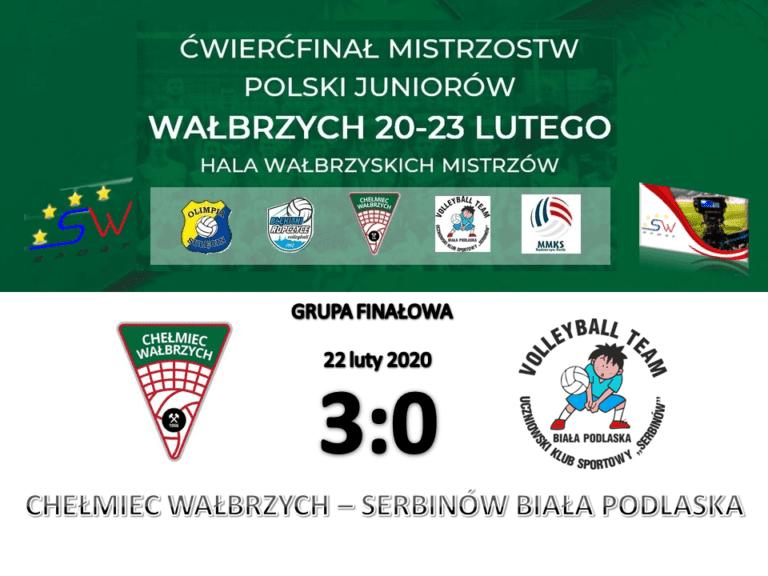 Siatkówka: Chełmiec rozbija Serbinów Biała Podlaska