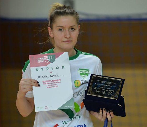 Kobiecy futbol: Klaudia Fabova w Medyku!
