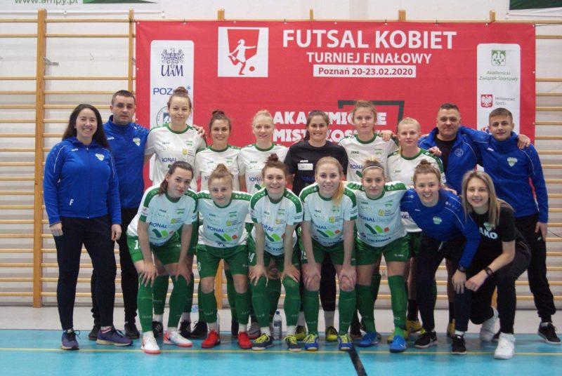 AMP futsal: PWSZ wraca do domu ze srebrnym medalem!
