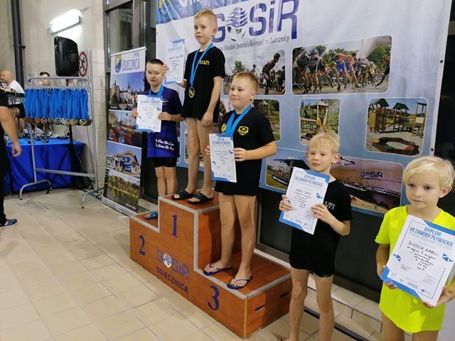 Pływacki sukces Szafiru!!!