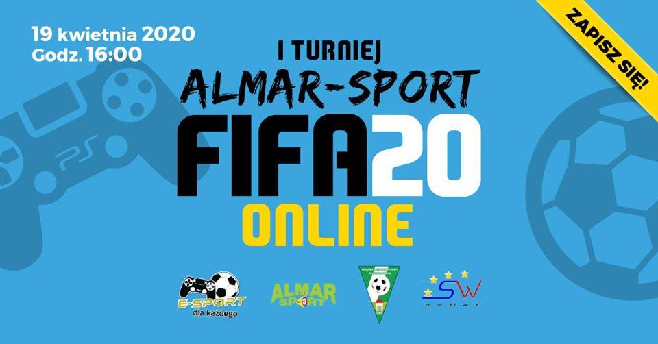 E-Sport: I Turniej ALMAR-SPORT FIFA 20 - Online