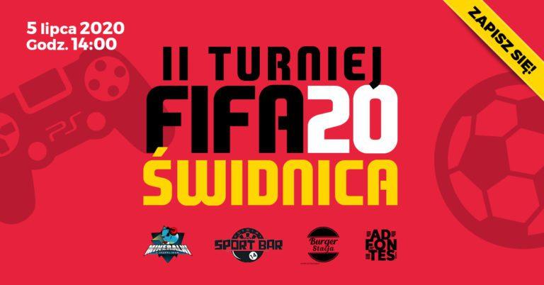 E-Sport: Zapraszamy na II Turniej FIFA 20 – Świdnica