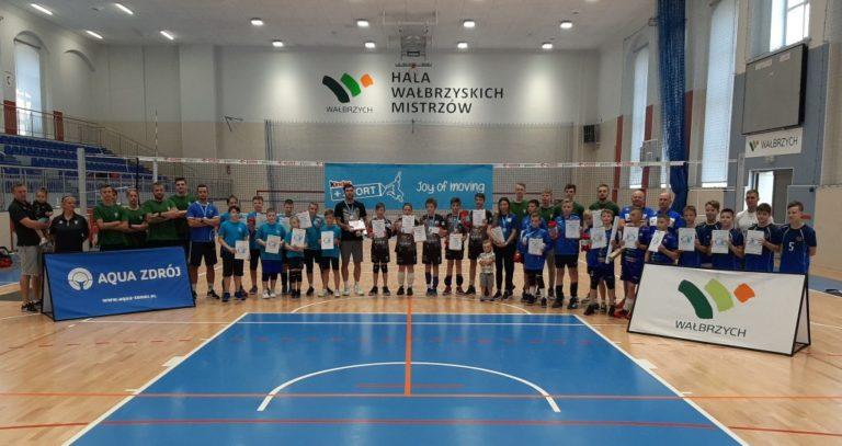 Siatkówka: Akademia UKPS Lubin wygrywa Kinder+Sport